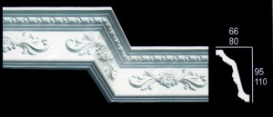 Small Floral Cornice